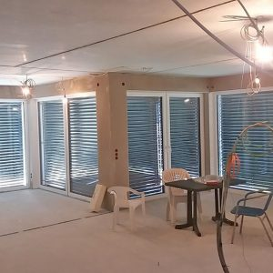 Construction Diary: He Lights And Blinds Respond To Every Touch Of The Button