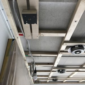 Construction Diary: The Substructure For The Acoustic Stretched Ceiling