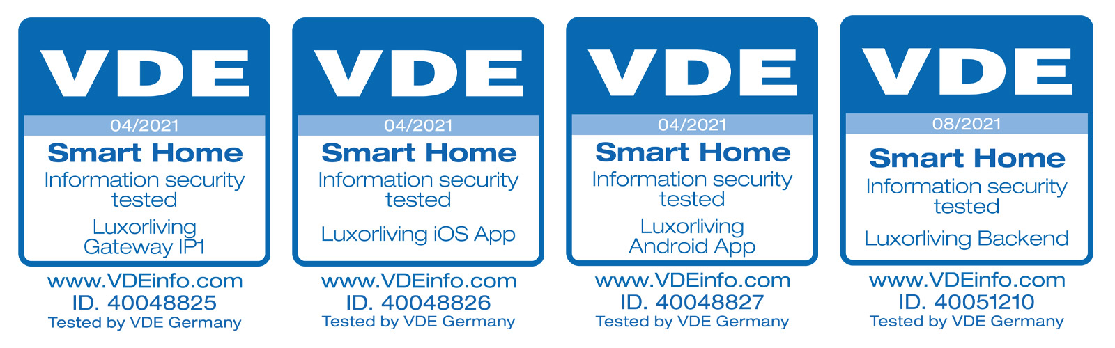 Proven Security: Our LUXORliving Smart Home System Has Been VDE-certified